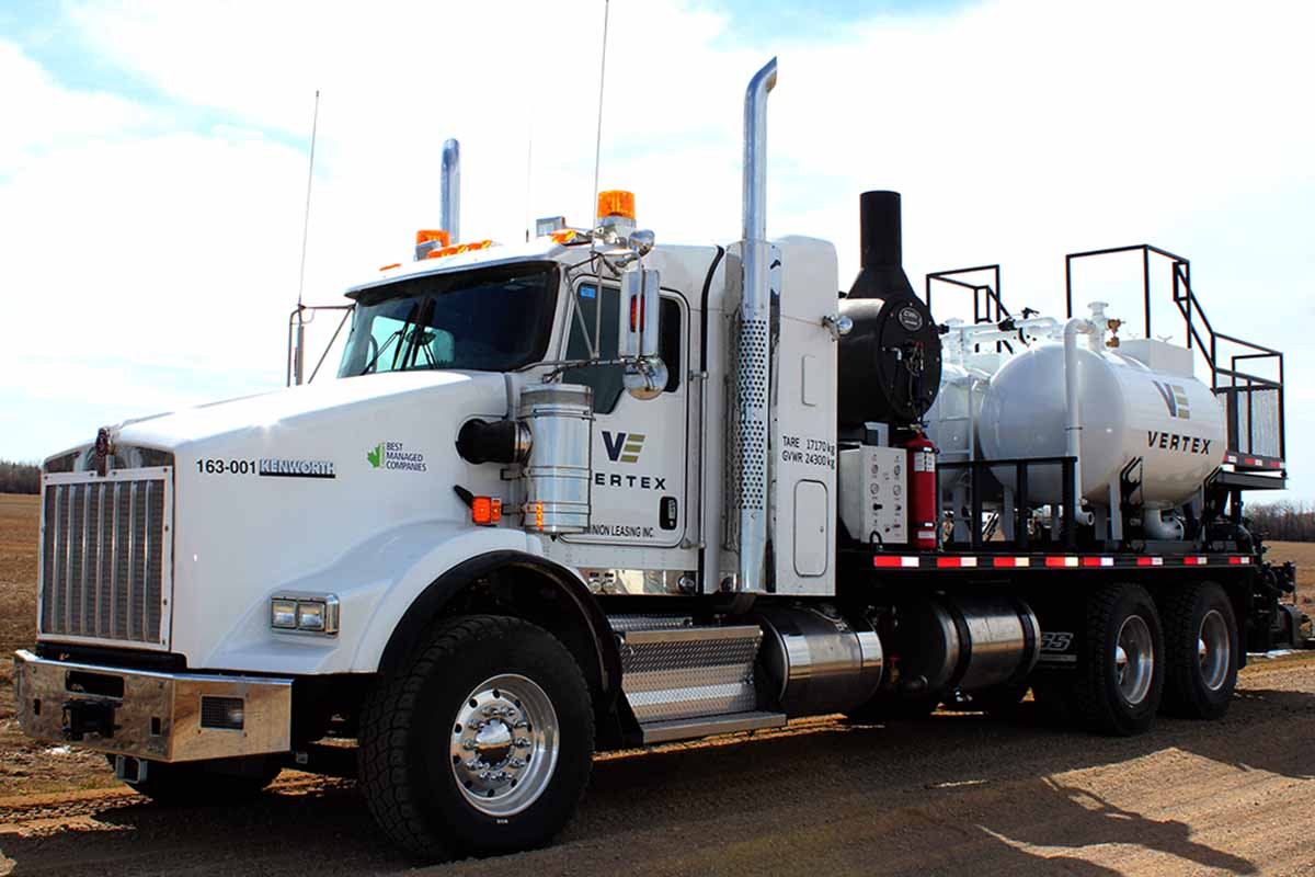 Chemical Cleaning Services : Vertex industrial chemical cleaning in western canada