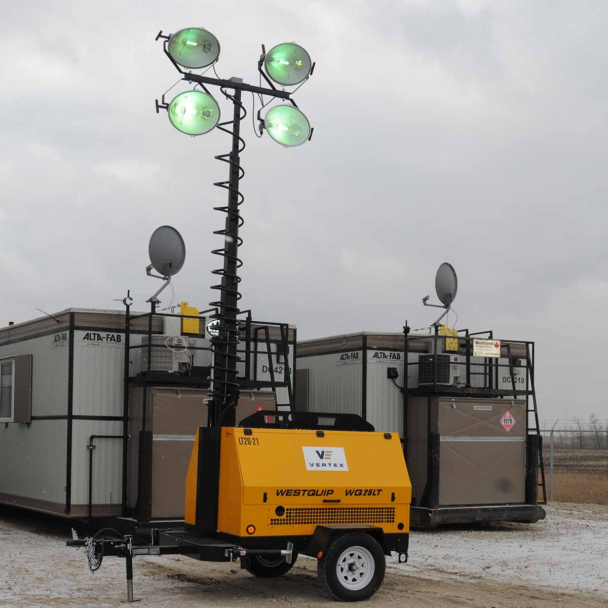 Light Tower Rentals In Western Canada