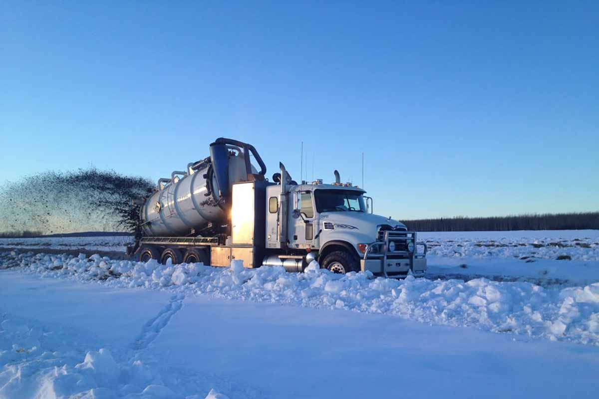 Vertex Vacuum Truck Services In Western Canada